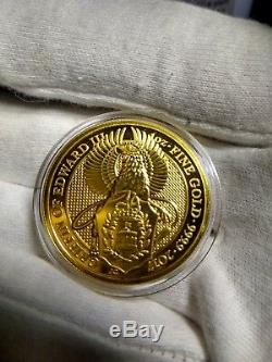 1 oz Gold Great Britain Griffin Queens Beast Queen Beast Gold Griffin Rare