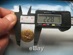 100% original ESCAPE COMPASS early, RAF ESCAPE TUNIC BUTTON. RARE! Genuine