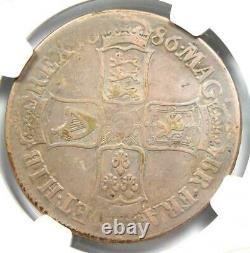 1686 Great Britain England James II Crown Coin Certified NGC VF25 Rare