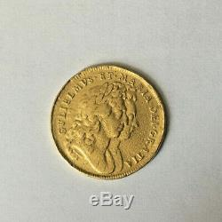 1694/3 Great Britain 2 Guinea Gold Extremely Rare Coin