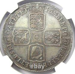 1746 Lima Great Britain England George II Crown Coin Certified NGC VF35 Rare