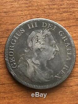 1804 Great Britain Bank of England George III Dollar Silver Coin Crown Rare