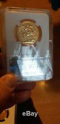 1823 GREAT BRITAIN London 2 Pound Sovereign Very Rare Gold Coin High Grade