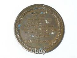1829 Oldham Blue-Coat School Bronze Medal RARE but a/f READ! #E14