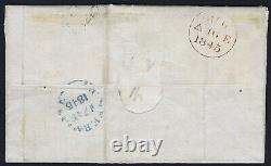 1840 1d Black Pl 1b CL 4m RARE EDINBURGH 131 on COVER ex Daisy Cat. £15,000.00