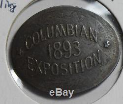 1893 Columbian Expo on 1849 great britain shilling silver rare! U0115 combine