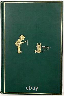 1926 edition WINNIE THE POOH Teddy Bear FIRST FORMAT Child A A MILNE Disney RARE