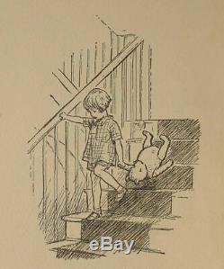 1929 edition WINNIE THE POOH Teddy Bear FIRST FORMAT Child A A MILNE Disney RARE