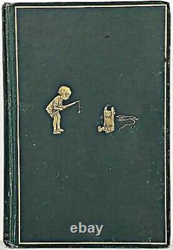 1931 edition WINNIE THE POOH Teddy Bear FIRST FORMAT Child A A MILNE Disney RARE