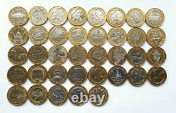 £2 Rare UK Coin Hunt Two Pounds Coins (Commonwealth, Navy, Britannia, Olympics)