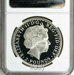 2003 Great Britain Britannia £2 Silver 1 oz Coin NGC PF 69 UC Rare Proof Coin