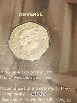 2004 Isle Of Man TT Coin BUNC In Original Isle Of Man Government Pack Very Rare