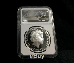 2005 Great Britain Britannia £2 Silver 1 oz Coin NGC PF 69 UC Rare Proof Coin