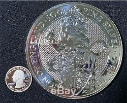 2017 Great Britain 10 oz Silver Queen's Beasts The Lion. 9999 Silver. RARE FIND