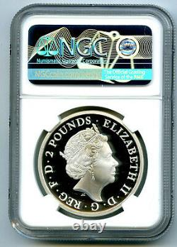 2018 Great Britain 1oz Silver Proof Ngc Pf70 Ucam Britannia Extremely Rare