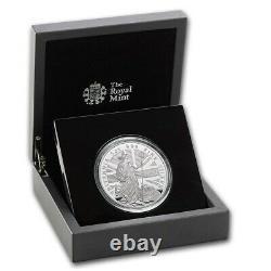 2020 Great Britain Britannia 10 Pnd Proof 5 Oz Limited Edition Rare