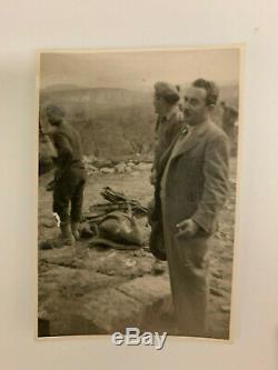 74 Rare WW2 Jewish Brigade Photos, Israel, Mandate Palestine, Egypt, Italy