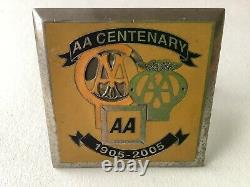 AA Centenary 1905-2005 Badge (Very Rare)