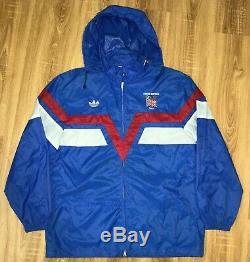 Adidas Ventex rare vintage 1988 Great Britain Olympic windbreaker jacket size L