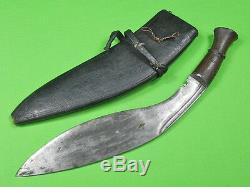 Antique Rare WW1 British England India Indian Kukri Gurkha Fighting Knife