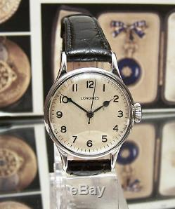 Antique V Rare 1943 Longines Raf Pilots / Navigators Ww2 Military Wrist Watch