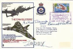 Barnes Wallis / Bomber Harris / Harold Martin / Signed RAF Dam Busters RARE
