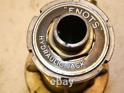 Bentley Enots Hydraulic Car Jack Part Of Toolkit Rare Vintage Tools