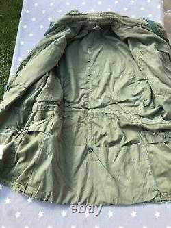 British Army 1960 Pattern OG Smock, V Rare Size 9, Very Good Condition See Desc
