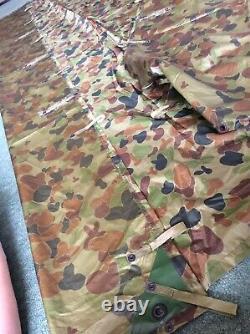 British Army Auscam Basha, shelter Sheet, poncho. RARE GENUINE AUSTRALIAN ISSUE. SF