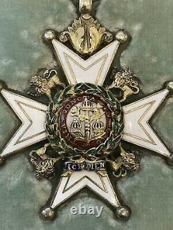 British Order of the Bath, Military, WW1, Silver Gilt, Garrard, Rare Ribbon