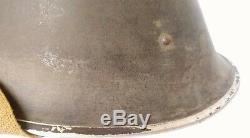 British UK MK III helmet 1945 dated, size 7 3/4 complete Sandy finishVERY RARE