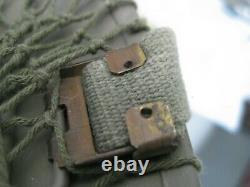 British WW2 MK II Tommy helmet dunkirk dday afrika korps rare antique RAF irvin