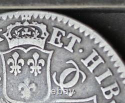 Charles II Halfcrown, 1670, V. Secundo Edge. E over R in ET. ESC. Bull 454 Rare