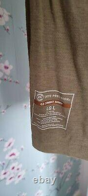 Crye Precision G3 combat shirt Khaki LG L RARE
