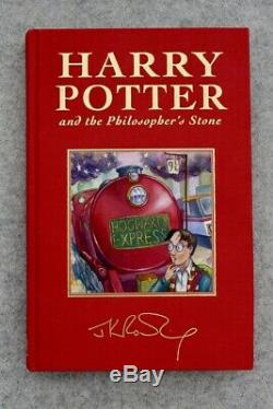 Deluxe 1st Edition/Print UK Version Harry Potter and the Philosophers Stone RARE