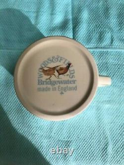 EMMA BRIDGEWATER, VINTAGE, GAMEBIRDS, WOODS & FIELD, 1st, BN, VERY RARE, 1 PINT