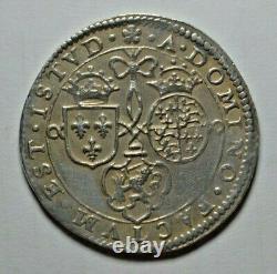 Elizabeth I, Battle of Turnhout, 1597, Anglo-Dutch victory, silver jeton, rare