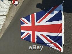 Extra Large 1997 Vintage Union Jack Flag Genuine Original Quality Rare Collect