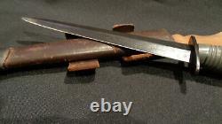 Fairbairn Sykes Stiletto Dagger. New Zealand. Rare! F/s Fighting Knife