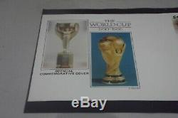 First Day Cover Mexico 86 World Cup Hand Signed Bobby Moore Rare Cover