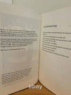 Folio Society F. Scott Fitzgerald 4 Volume Rare Set Tender Is The Night, The Gre
