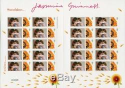 GB 2009 Charity Smilers Sheet Cat TSL-092 signed by Jasmine Guinness Rare