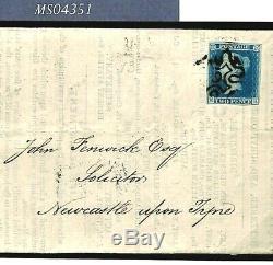 GB 2d BLUE Cover NUMBER 9 MX Maltese Cross SG. Cat £3,200- RARE samwellsMS4351