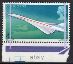 GB QEII 1969 Concorde 4d SG784var 2x1.5mm bands EXTREMELY RARE