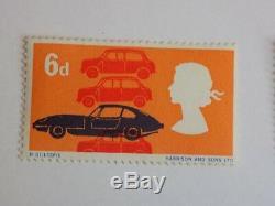 GB stamp QEII predecimal sg702 W98 missing colour orange very rare error UMM