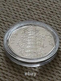 GENUINE 2009 KEW GARDENS 50p COIN CIRCULATED IN CAPSULE COLLECTABLE & RARE