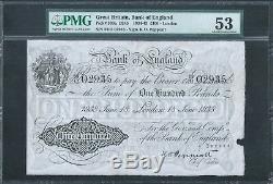 GREAT BRITAIN £100 P339a B245 London Branch 18 June 1938 PMG 53 AU RARE