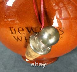 GREAT RARE ROYAL DOULTON (NAVAL) WWI COMMEMORATIVE WHISKY FLASK for DEWAR'S