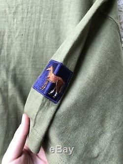 Genuine Fallujah Police Iraq T-shirt & Chestnut Troop Tour Shirt 2004, Very Rare