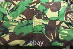 Genuine Rare British Army Combat Windproof Artic Smock Gabardine Dpm 170 /112